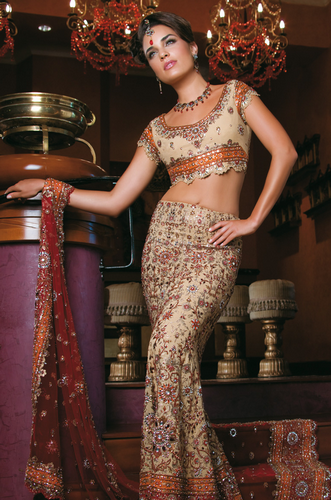 Indian Bridal Dresses 2013-14 | Traditional Bridal Collection from ...