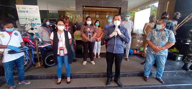 Rustan Saru Ungkap Sembuhnya 42 Pasien Covid 19 Karena Perhatian Serius Pemkot Jayapura