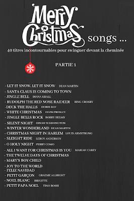 playlist des meilleures chansons de Noël blog mariage et jolies fêtes www.unjourmonprinceviendra26.com