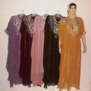 15 Model Baju Muslim Gamis Khas Tanah Abang Terbaru 2016