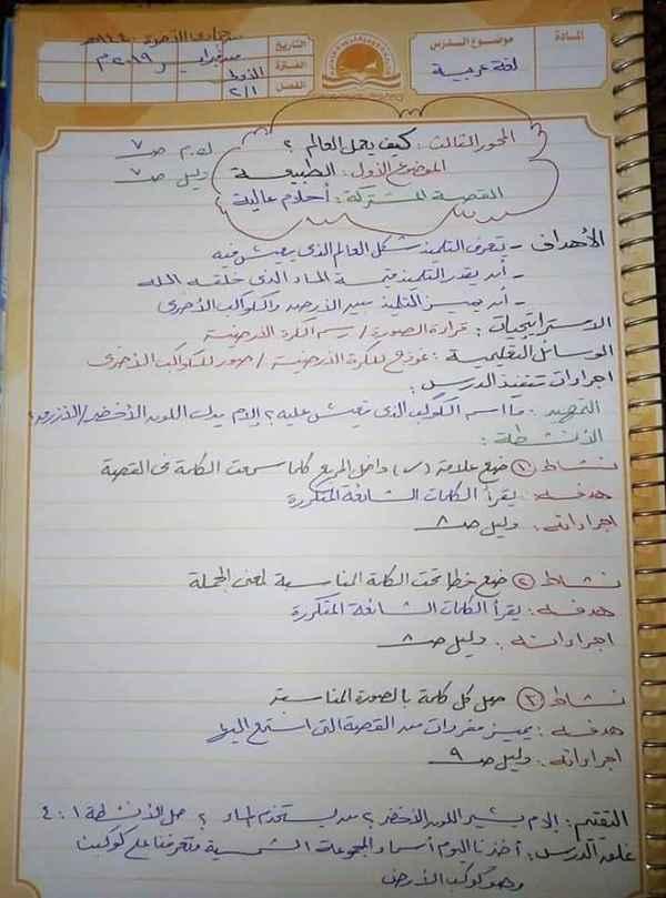 تحضير قصة أحلام عالية لغة عربية أولى ابتدائي المنهج الجديد ترم ثاني2019