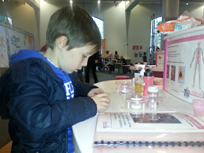 Child Doing Practical Science
