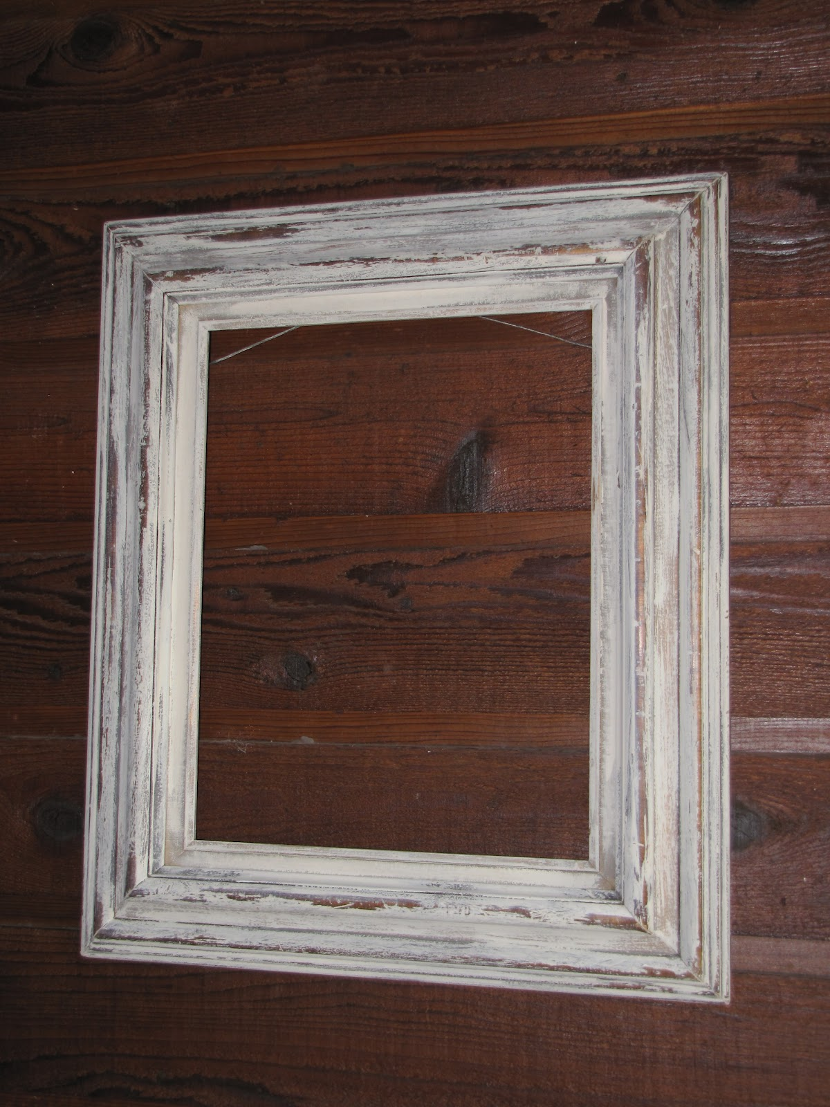 Valeries Yard And Other Activities Shabby Chic Chalk Paint Frames