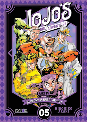 JoJo's Bizarre Adventure Part IV: Diamond Is Unbreakable vol 5