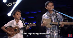 Bohol brother duo wow Coach Bamboo on 'The Voice Kids'