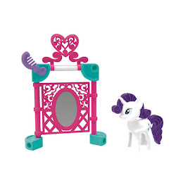 MLP Pony Pals Rarity Figure by K'NEX Tinkertoy