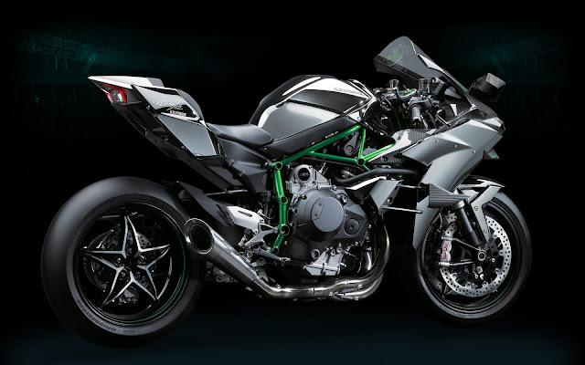 Kawasaki Ninja H2R motor tercepat terkencang dan termahal di dunia