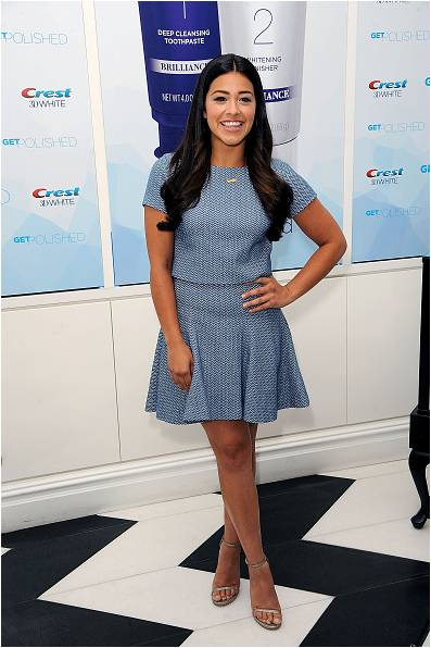 Gina Rodriguez August 2015 at Crest Event