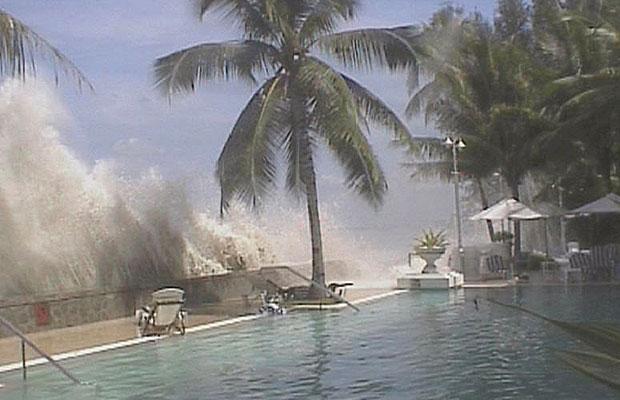 Ini Chegite Fefara Gambar Tsunami