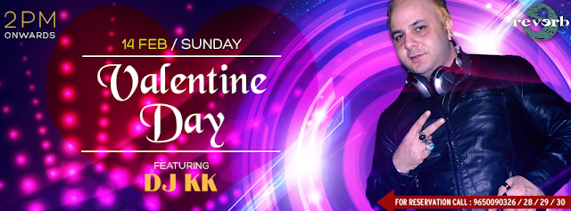 VALENTINES DAY WITH DJ KK | REVERB DISC - Valentine's Day Party in Noida