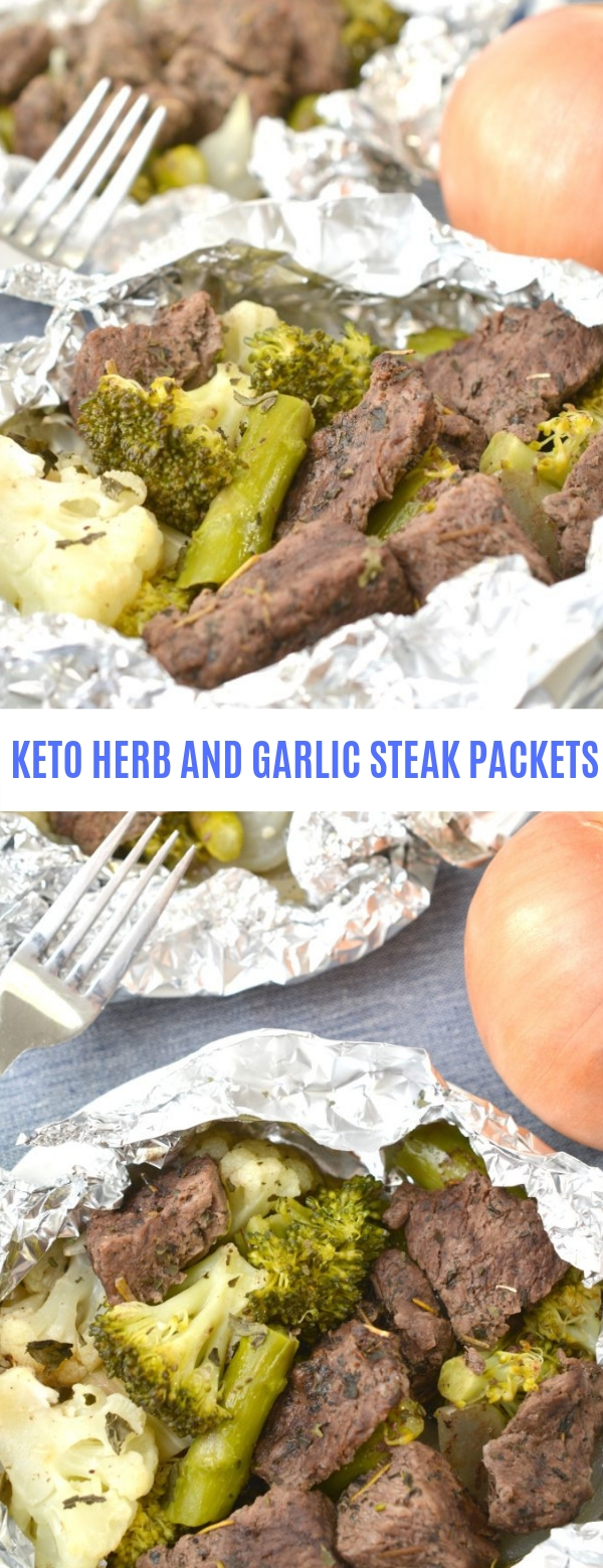 KETO HERB AND GARLIC STEAK PACKETS