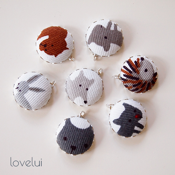 lovelui animal charms