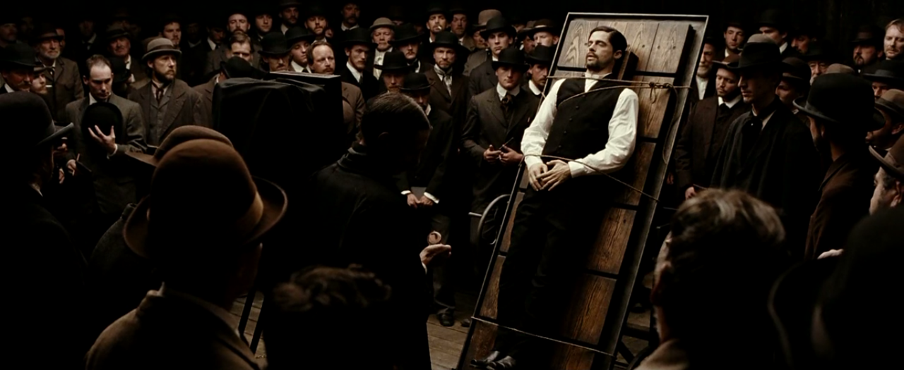 scene analysis assassination of jesse james The assassination of jesse james by the coward robert ford was perhaps   no great film can be analyzed without digging deep into every layer of its  of  ford's relationship with james as well as his aspirations, the scene.