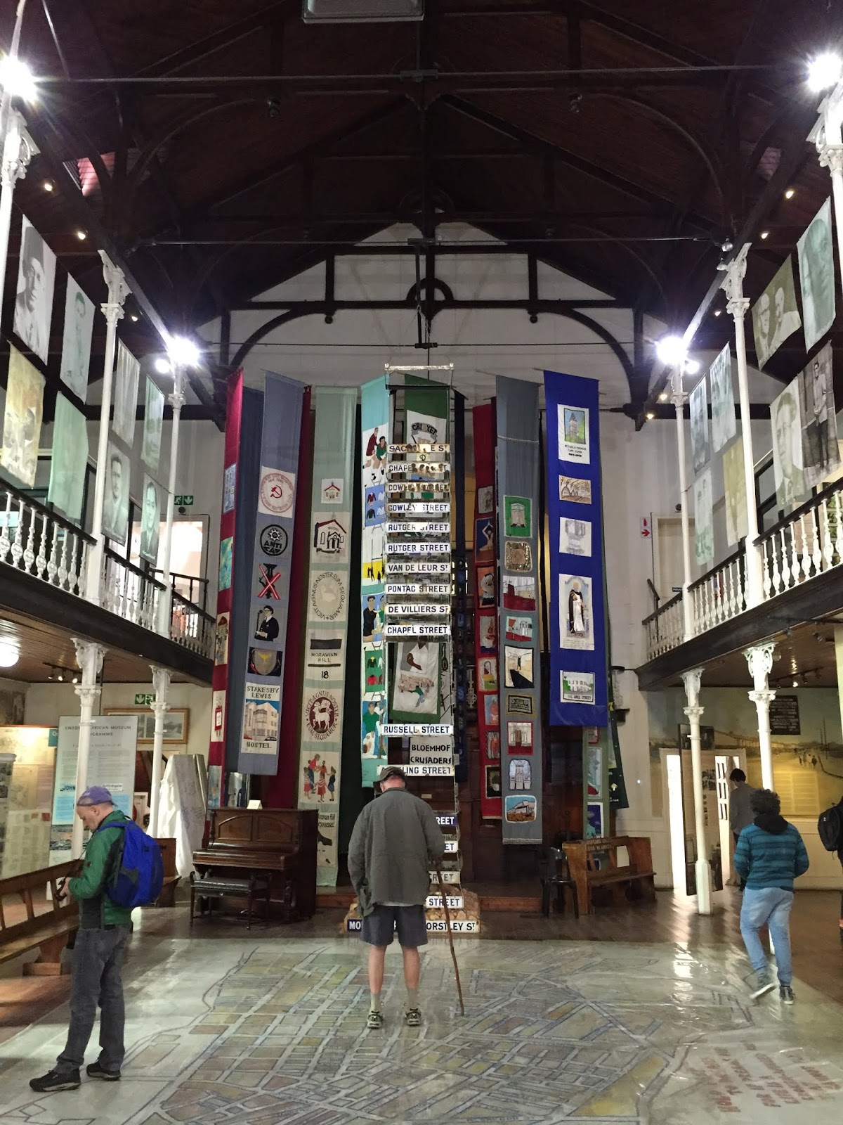 Inside of the District 6 Museum