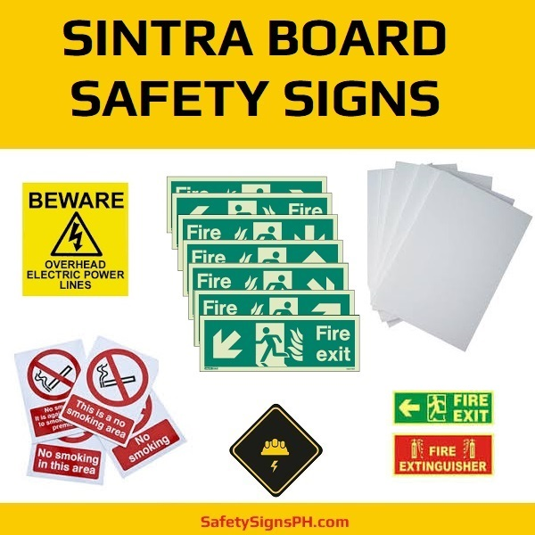 Sintra Board Safety Signs Philippines