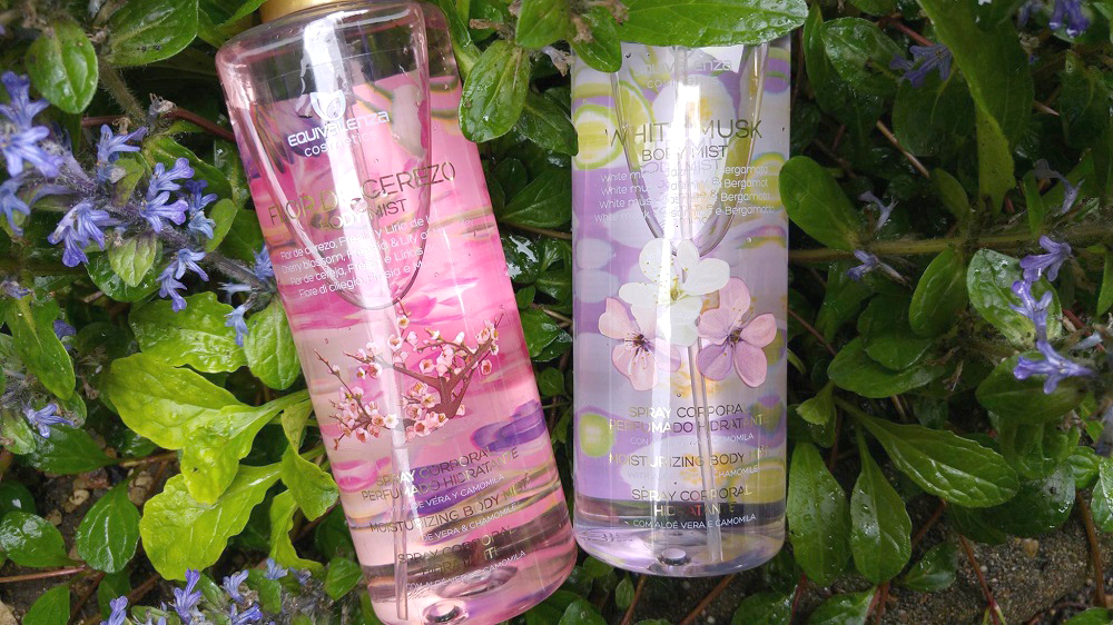 Equivalenza, Equivalenza Review, Avis Equivalenza, Brume equivalenza, Equivalenza Body Mists, Equivalenza White Musk & Flor de Cerezo (Cherry Blossom) body spray, Hollister body mist, Equivalenza
