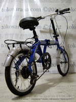 16 Inch DoesBike 1605 Rotex 6 Speed Shimano with Carrier Folding Bike