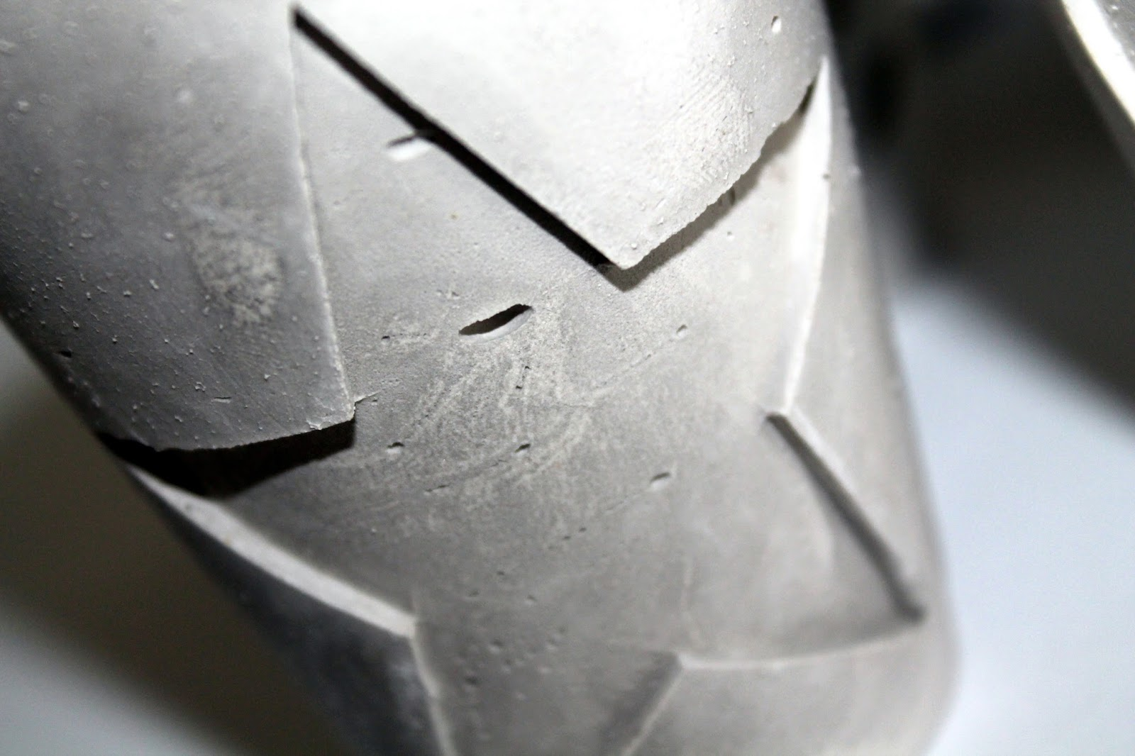 DIY, Basteln: Gips / Beton Teelichthalter Weihnachten in Weihnachtsdekoration - DIYCarinchen