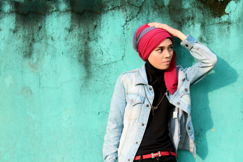 Cewek cantik pakai baju dalam ketat Model Hijab Seksi dan Jilbob terbaru ini