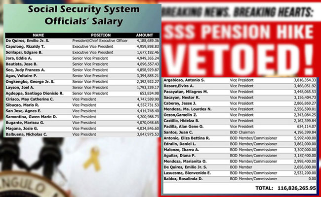 President Benigno Aquino III Defended himself after Vetoing SSS Pension Hike