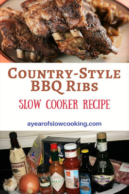 This is what you expect when you have a rib craving. I love how the ribs brown all on their own in the crockpot -- the tiny bit of Liquid Smoke is what really brings the flavor home. Total Winner!!
