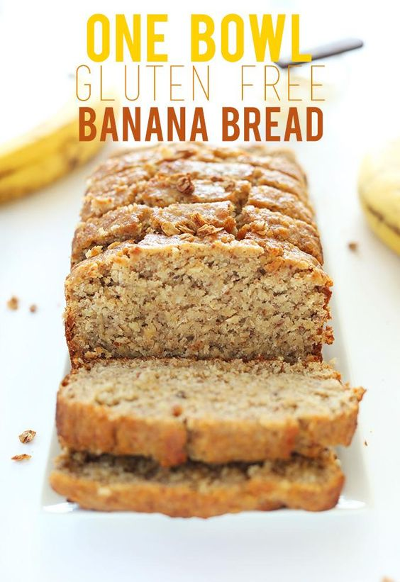 1-BOWL GLUTEN-FREE BANANA BREAD