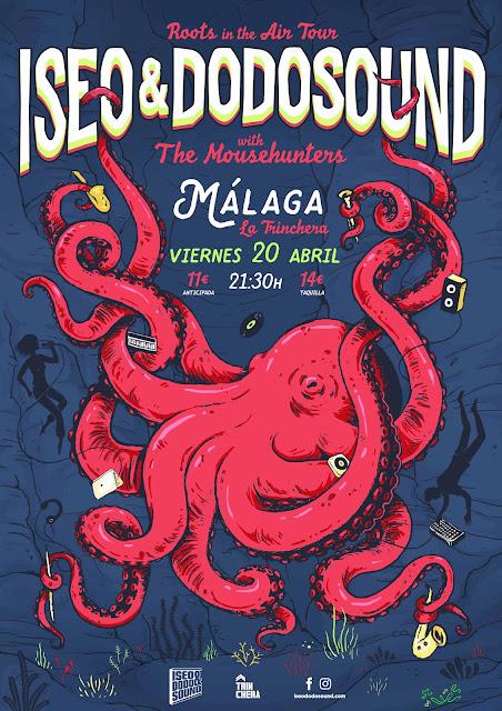 Concierto de Iseo & Dodosound en Málaga