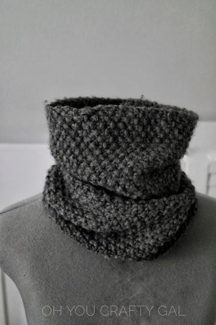 Easy beginner knit pattern bulky wool women scarves scarf knitting