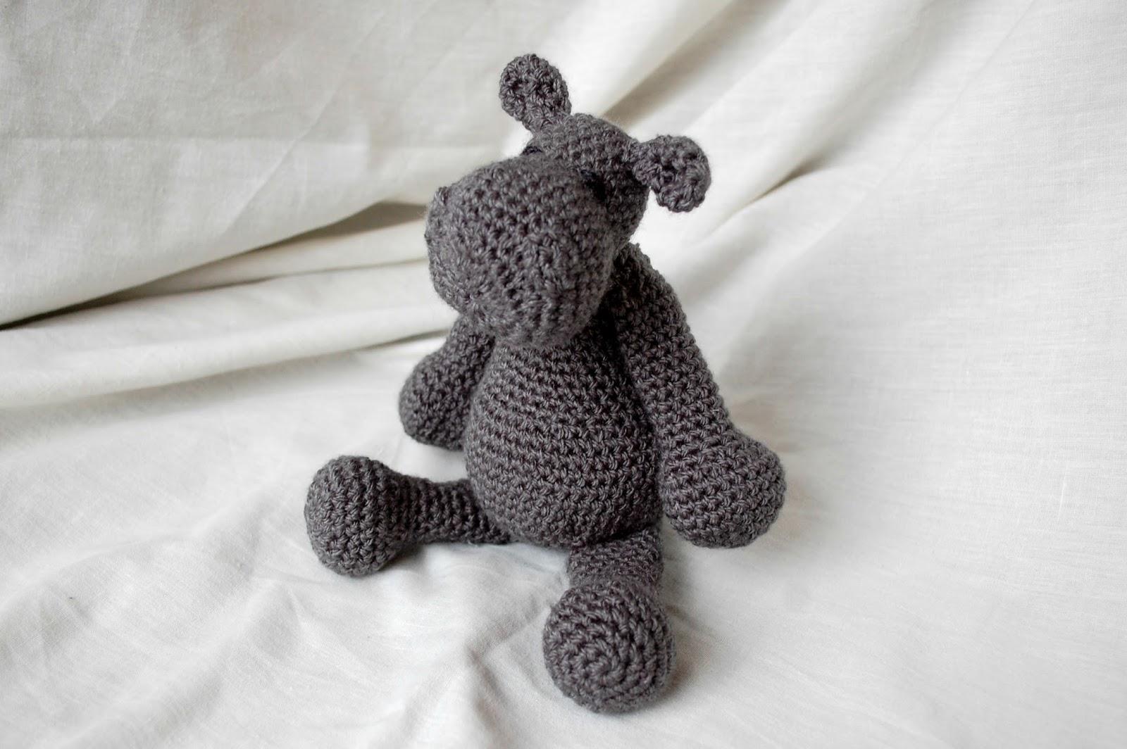 Free Amigurumi Hippo Pattern : The geeky knitter fo georgina the hippo