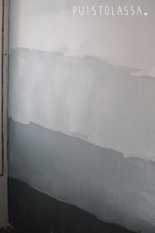 diy ombre wall. Black Bedroom Furniture Sets. Home Design Ideas
