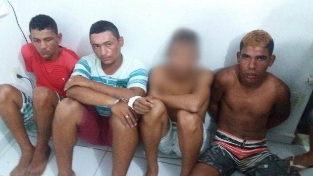 Caaporã:Cinco suspeitos são presos pelo homicídio de Sargento da PM em Pedras de Fogo