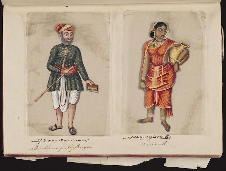 Brahman messenger and Female
