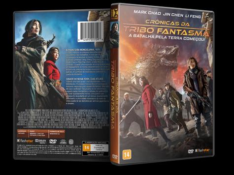 Capa DVD Crônicas da Tribo Fantasma [Custom]