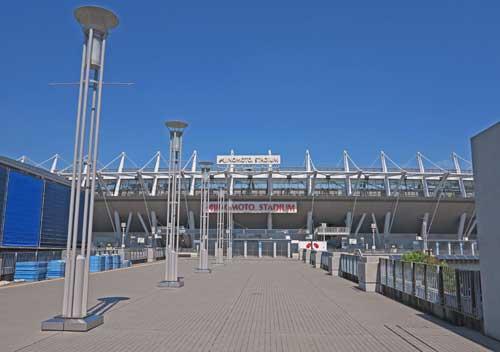Ajinomoto Stadium, Tokyo.