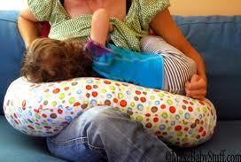 Gyerekbirodalom - Hasznos dolgok a gyerekneveléshez  Szoptatós párna ... 86ce263f61