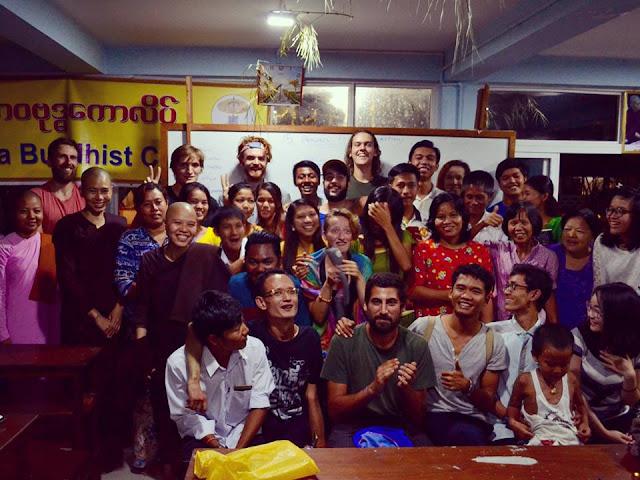 volunteering in Myanmar