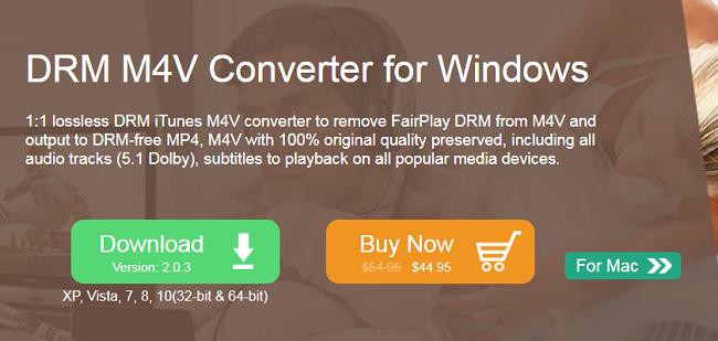 DRM M4V Converter
