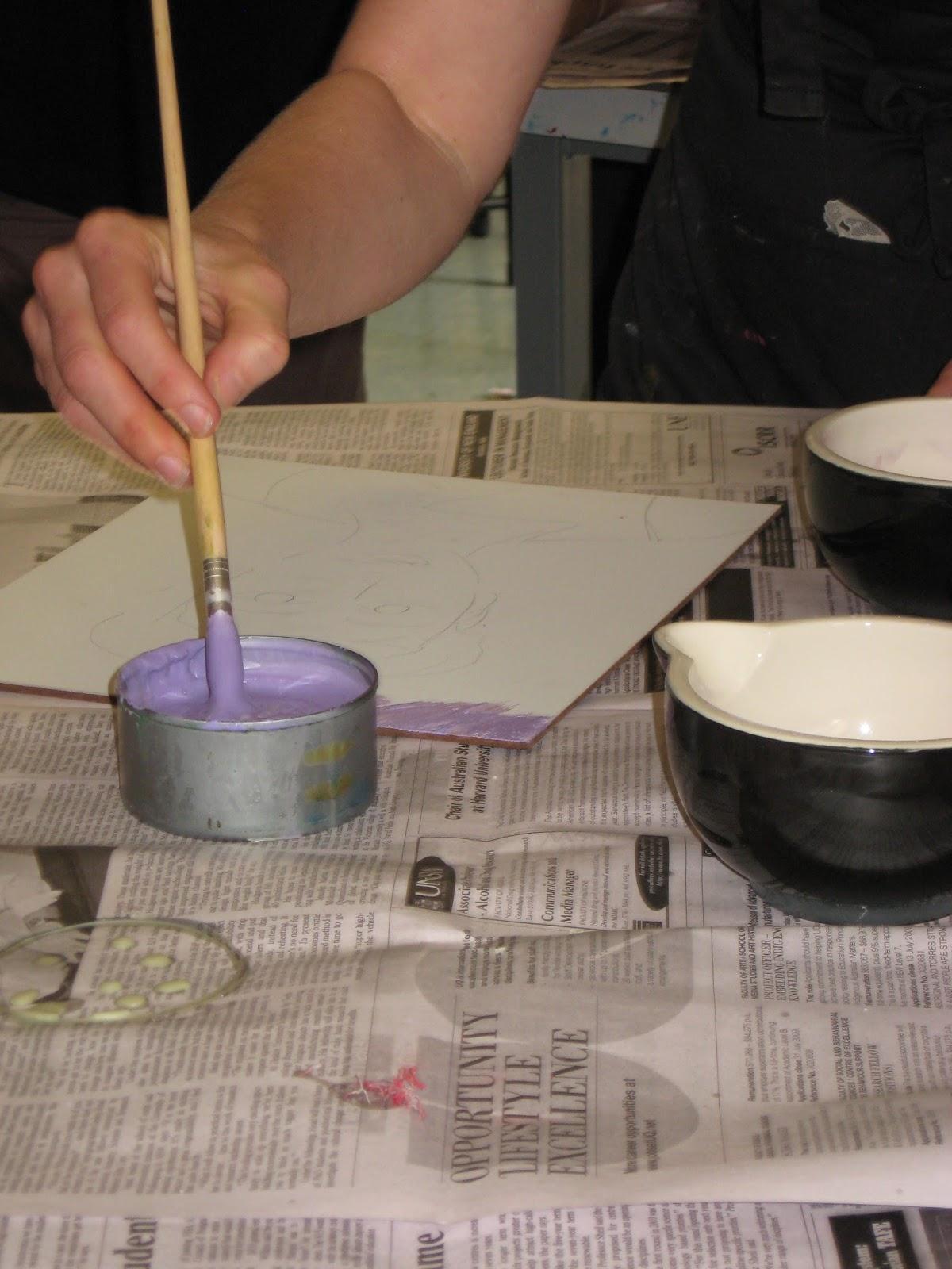 Arty Crafty Studio Encaustic Painting Aka Wax Painting