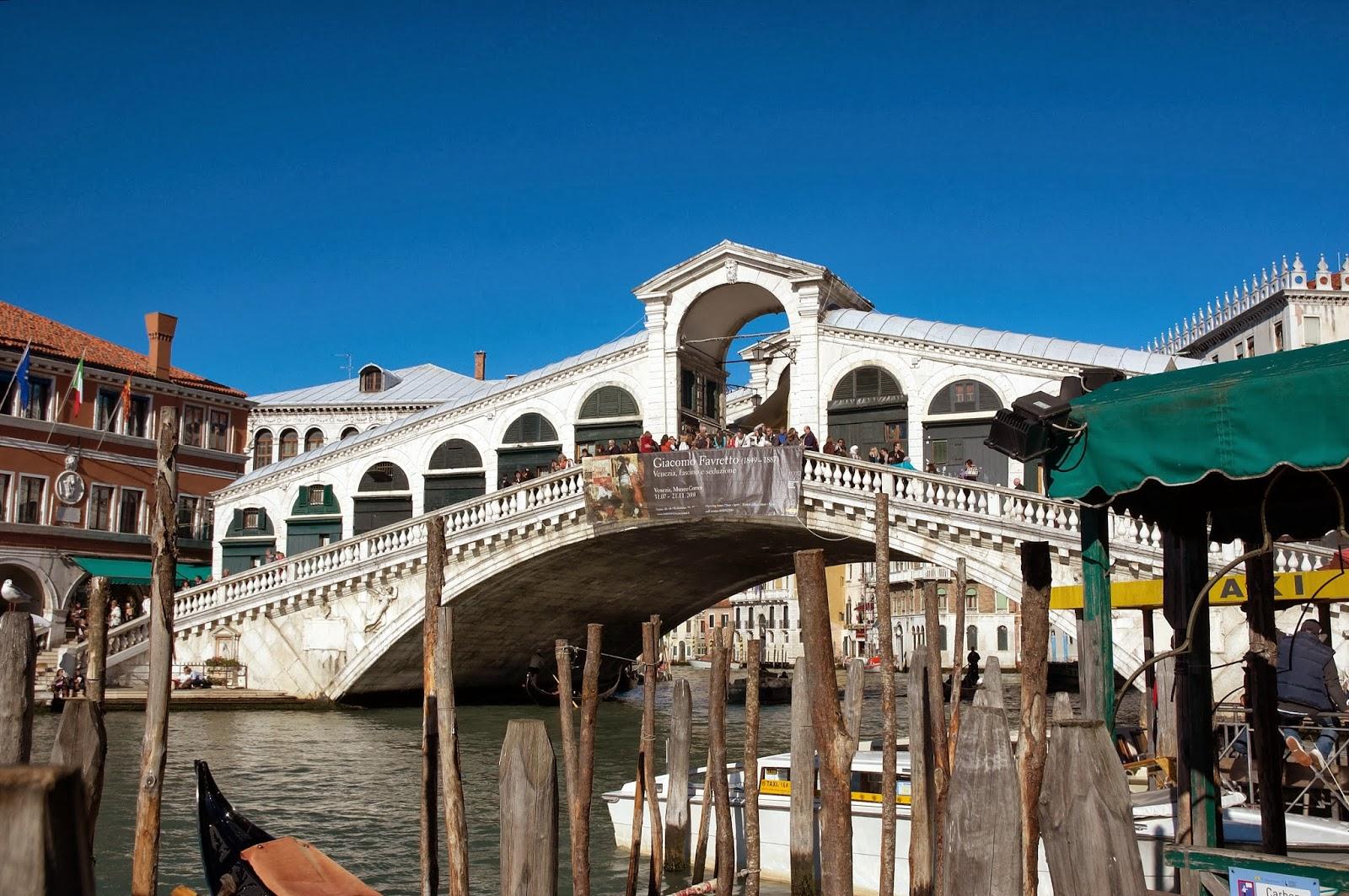 Wenecja mosty w centrum miasta