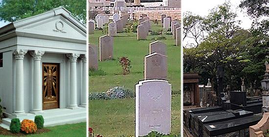 Enterrado vivo - Tipos de túmulos