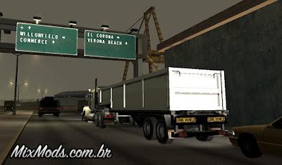 mod de caminhoneiro gta