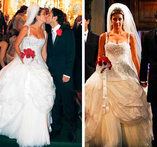 Rafaela Bassi, noiva Dolce Gabbana