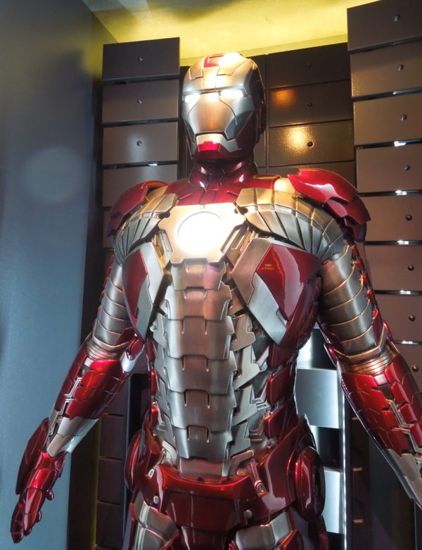 Iron Man 2 movie briefcase suit
