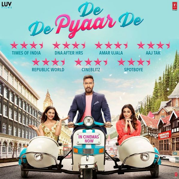 Bollywood movie De De Pyaar De Box Office Collection wiki, Koimoi, Wikipedia, De De Pyaar De Film cost, profits & Box office verdict Hit or Flop, latest update Budget, income, Profit, loss on MT WIKI, Bollywood Hungama, box office india
