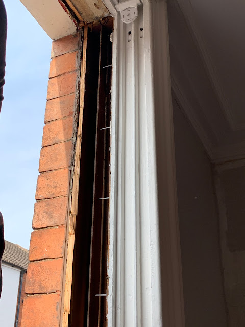 sash window reveals