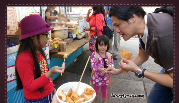 DIY Hong Kong Tour Itinerary - Hong Kong family tour - visit Hong Kong - Tai O Fishing Village - Lantau Island - eating octopus