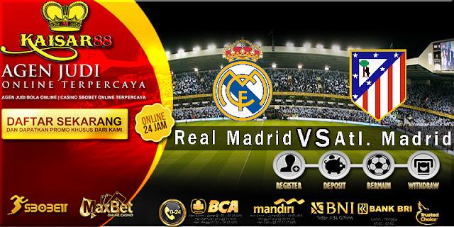 PREDIKSI TEBAK SKOR JITU REAL MADRID VS ATLETICO MADRID 30 SEPTEMBER 2018
