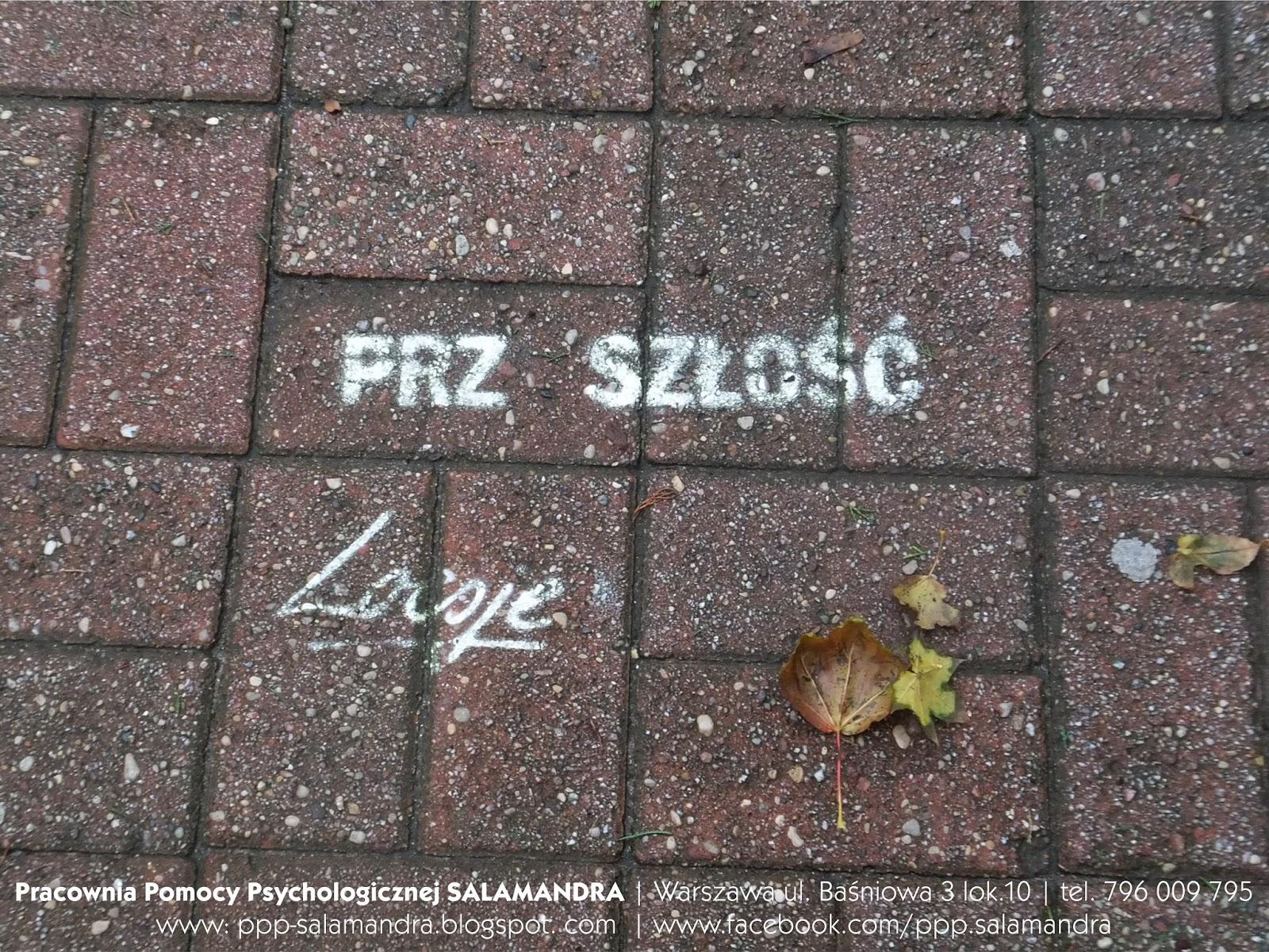 Dobry psycholog Warszawa i Loesje przypominają, że decyzja należy do ciebie