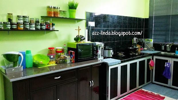 Susun Atur Tanpa Kitchen Cabinet Hiasan Dapur Yang Tiada Kabinet
