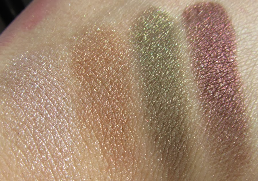 Rouge Deluxe: Bourjois Color Edition 24h Eyeshadow Swatches